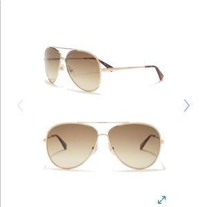 Longvchamp 61mm aviator sunglasses